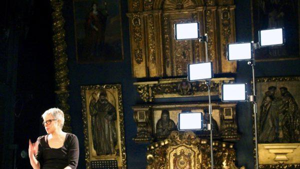 Sor Juana stage